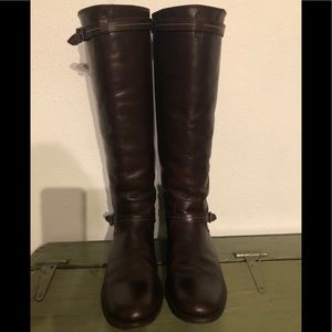 Frye Tall Brown Riding Boots Size 8.5